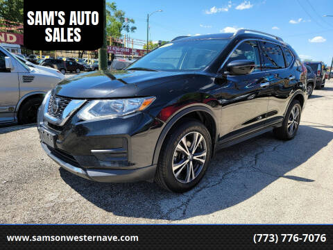 2019 Nissan Rogue for sale at SAM'S AUTO SALES in Chicago IL