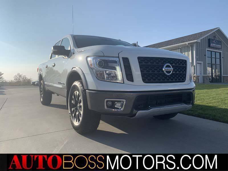 2019 Nissan Titan for sale at Auto Boss in Woodscross UT