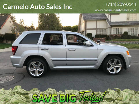 2008 Jeep Grand Cherokee for sale at Carmelo Auto Sales Inc in Orange CA