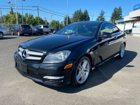 2012 Mercedes-Benz C-Class for sale at Vista Auto Sales in Lakewood WA