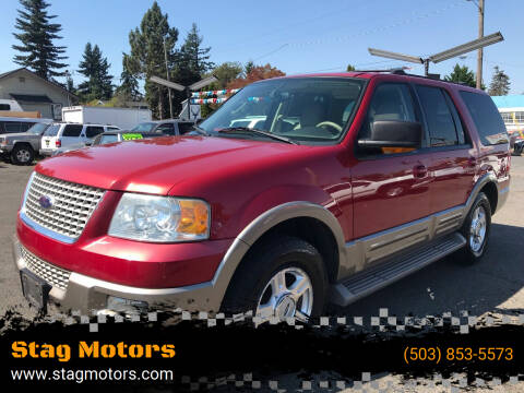 2003 Ford Expedition for sale at Stag Motors in Portland OR