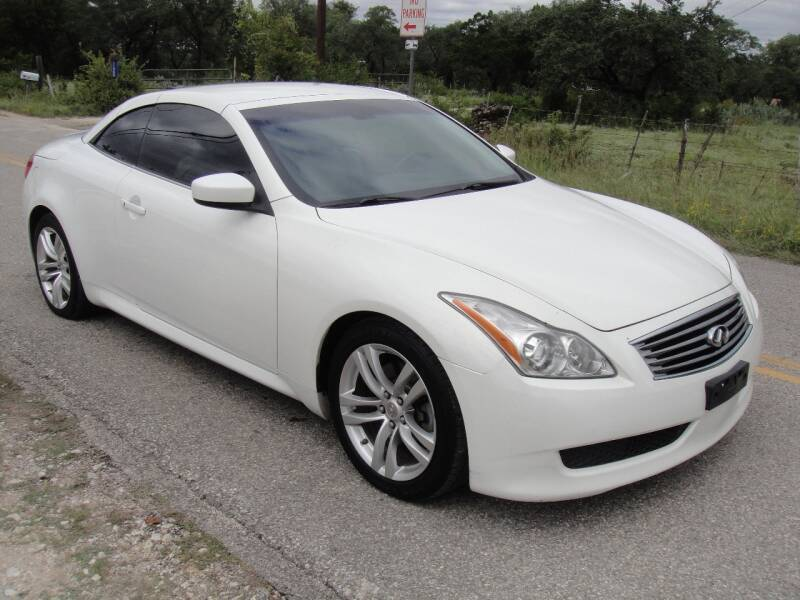 2009 Infiniti G37 Convertible for sale at Coleman Auto Group in Austin TX
