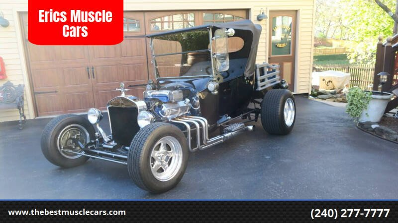 1923 Ford Model T for sale at Erics Muscle Cars in Clarksburg MD