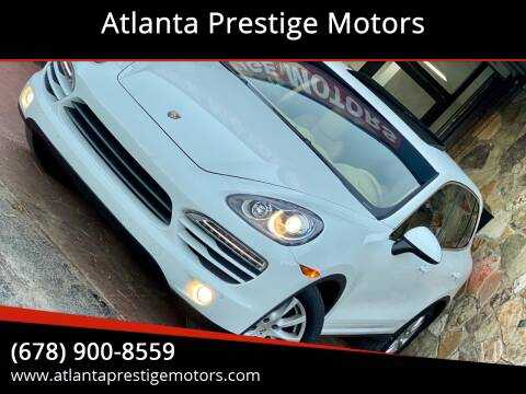 2012 Porsche Cayenne for sale at Atlanta Prestige Motors in Decatur GA