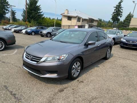2014 Honda Accord for sale at KARMA AUTO SALES in Federal Way WA