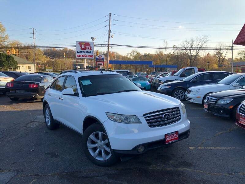 2005 Infiniti FX35 for sale at KB Auto Mall LLC in Akron OH