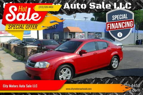 2012 Dodge Avenger for sale at City Motors Auto Sale LLC in Redford MI