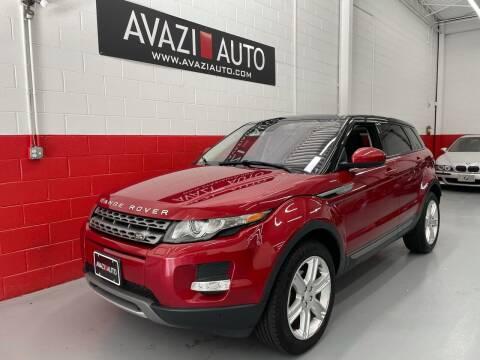 2015 Land Rover Range Rover Evoque for sale at AVAZI AUTO GROUP LLC in Gaithersburg MD