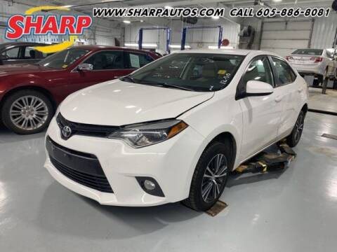 2016 Toyota Corolla for sale at Sharp Automotive in Watertown SD