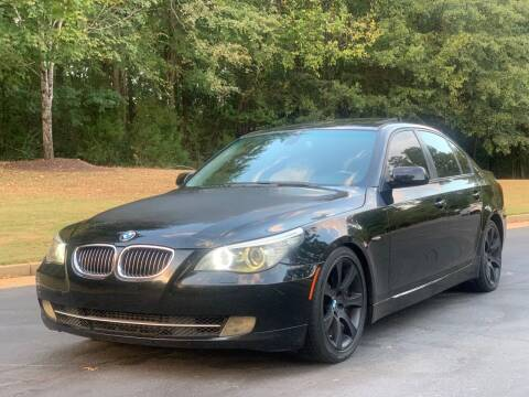 2009 BMW 5 Series for sale at Top Notch Luxury Motors in Decatur GA