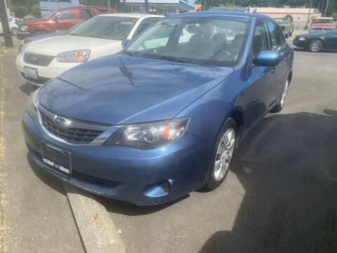 2009 Subaru Impreza for sale at MILLENNIUM MOTORS INC in Monroe WA