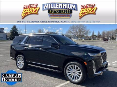 2021 Cadillac Escalade for sale at Millennium Auto Sales in Kennewick WA