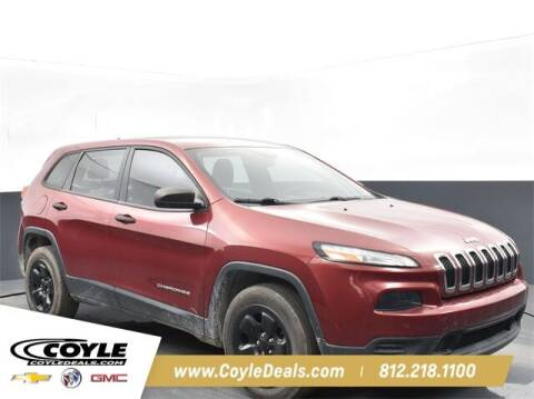 2015 Jeep Cherokee for sale at COYLE GM - COYLE NISSAN - New Inventory in Clarksville IN