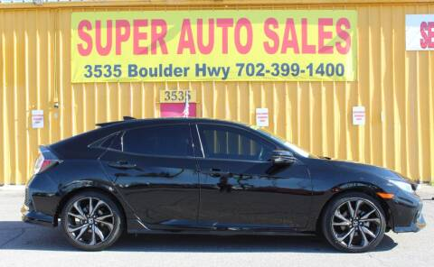 2018 Honda Civic for sale at Super Auto Sales in Las Vegas NV