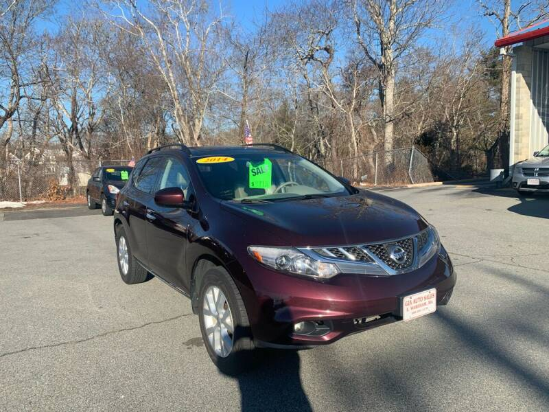 2014 Nissan Murano for sale at Gia Auto Sales in East Wareham MA