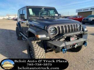 2021 Jeep Wrangler Unlimited for sale at BELOIT AUTO & TRUCK PLAZA INC in Beloit KS
