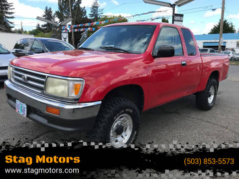 1996 Toyota T100 for sale at Stag Motors in Portland OR