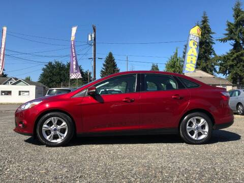 2013 Ford Focus for sale at A & V AUTO SALES LLC in Marysville WA