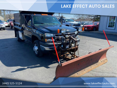 2006 Chevrolet Silverado 3500 for sale at Lake Effect Auto Sales in Chardon OH