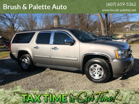 2007 Chevrolet Suburban for sale at Brush & Palette Auto in Candor NY