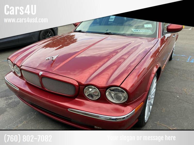 2004 Jaguar XJR for sale at Cars4U in Escondido CA