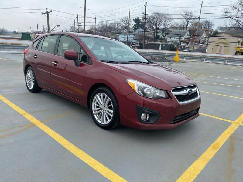 2012 Subaru Impreza for sale at JG Auto Sales in North Bergen NJ