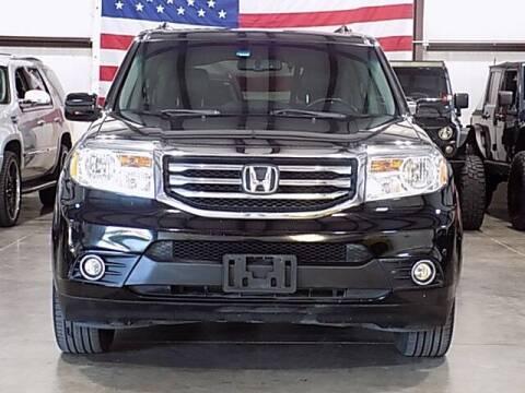 2014 Honda Pilot for sale at Texas Motor Sport in Houston TX