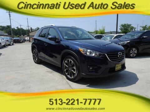 2016 Mazda CX-5 for sale at Cincinnati Used Auto Sales in Cincinnati OH