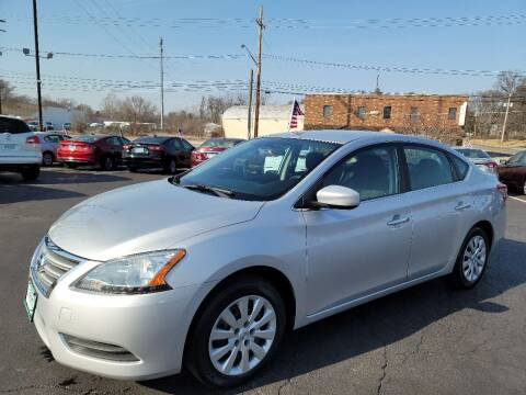 2013 Nissan Sentra for sale at Shaddai Auto Sales in Whitehall OH