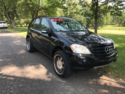2006 Mercedes-Benz M-Class for sale at BELOW BOOK AUTO SALES in Idaho Falls ID