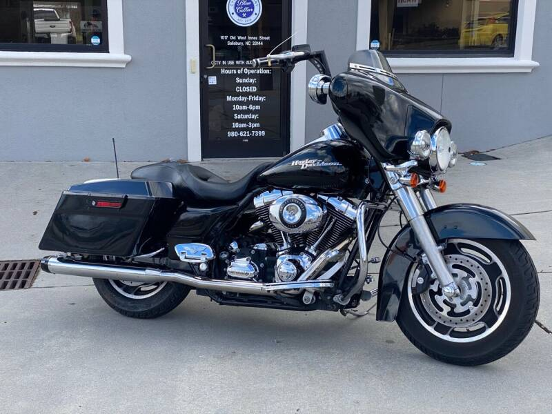 2008 Harley-Davidson FLHX Street Glide for sale at Blue Collar Cycle Company in Salisbury NC