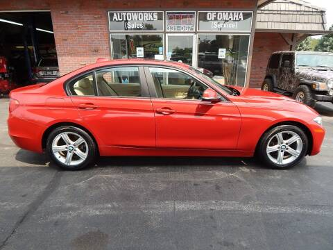 2015 BMW 3 Series for sale at AUTOWORKS OF OMAHA INC in Omaha NE