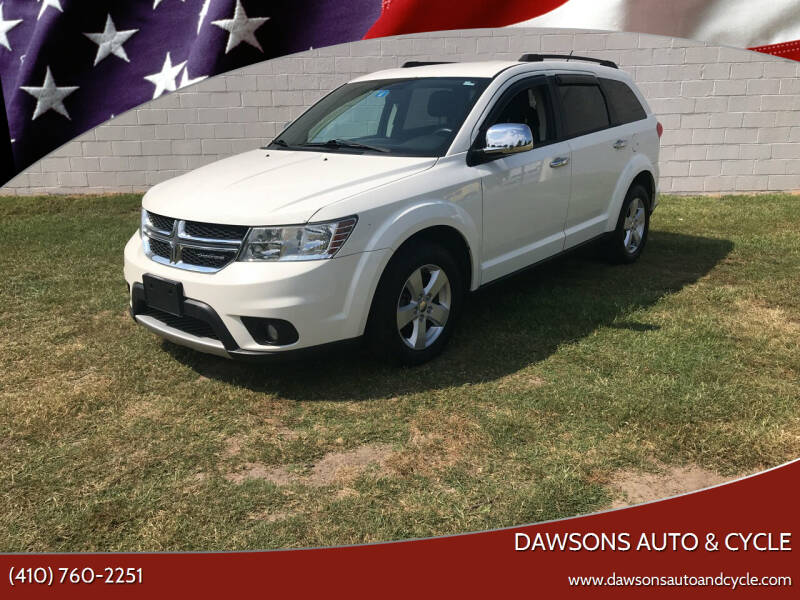 2012 Dodge Journey for sale at Dawsons Auto & Cycle in Glen Burnie MD