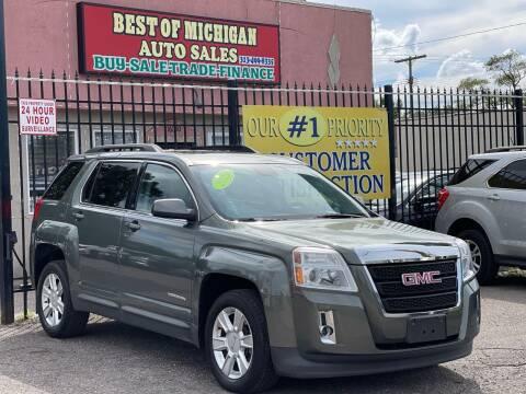 2013 GMC Terrain for sale at Best of Michigan Auto Sales in Detroit MI