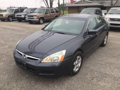 2007 Honda Accord for sale at John 3:16 Motors in San Antonio TX