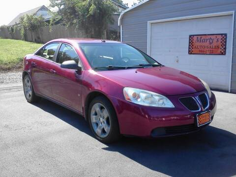 2008 Pontiac G6 for sale at Marty's Auto Sales in Lenoir City TN