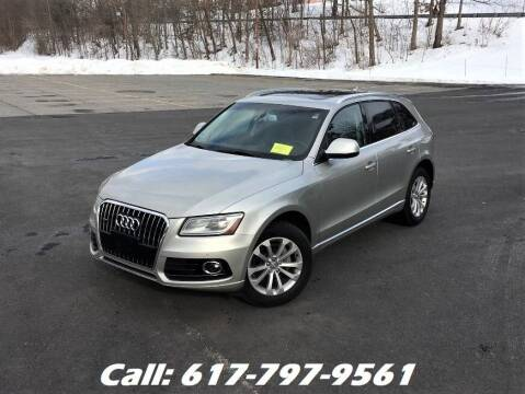 2013 Audi Q5 for sale at Wheeler Dealer Inc. in Acton MA