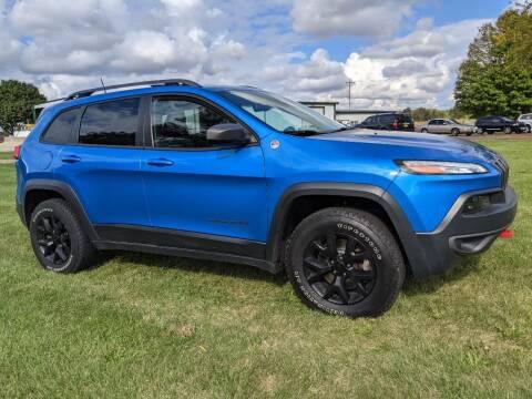 2017 Jeep Cherokee for sale at McClain Auto Mall in Rochelle IL