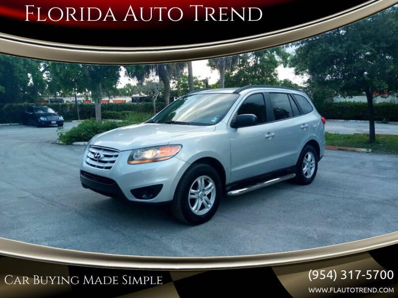 2010 Hyundai Santa Fe for sale at Florida Auto Trend in Plantation FL