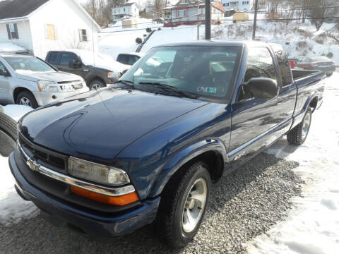 2002 Chevrolet S-10 for sale at Sleepy Hollow Motors in New Eagle PA