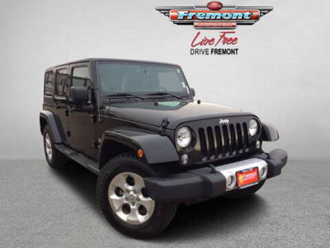 2014 Jeep Wrangler Unlimited for sale at Rocky Mountain Commercial Trucks in Casper WY