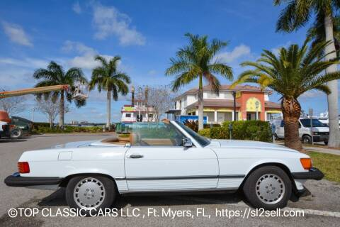 1987 Mercedes-Benz 560-Class for sale at Top Classic Cars LLC in Fort Myers FL