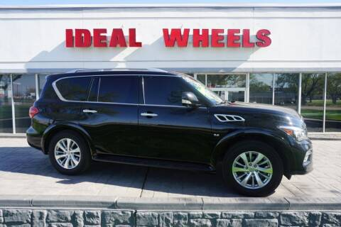 2017 Infiniti QX80 for sale at Ideal Wheels in Sioux City IA