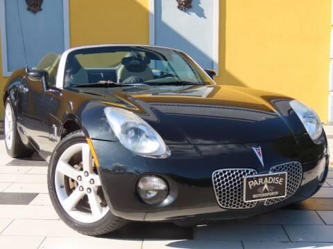 2008 Pontiac Solstice for sale at Paradise Motor Sports LLC in Lexington KY
