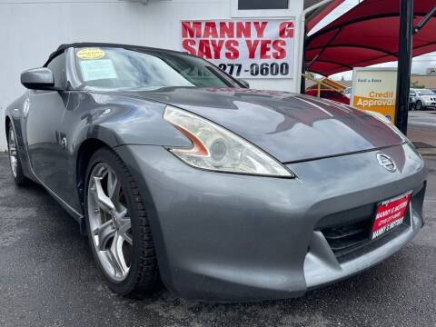 2012 Nissan 370Z for sale at Manny G Motors in San Antonio TX