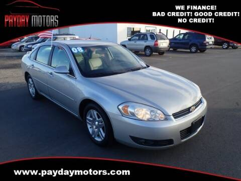 2008 Chevrolet Impala for sale at Payday Motors in Wichita And Topeka KS