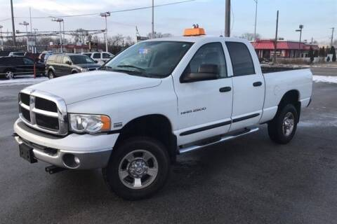 2005 Dodge Ram Pickup 2500 for sale at WEINLE MOTORSPORTS in Cleves OH