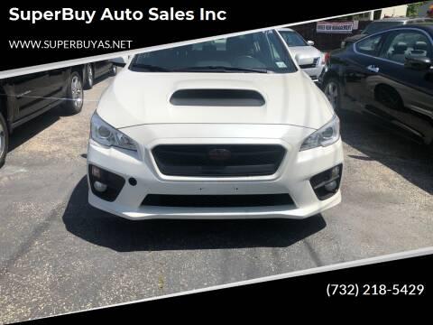 2015 Subaru WRX for sale at SuperBuy Auto Sales Inc in Avenel NJ