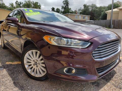 2013 Ford Fusion Hybrid for sale at The Auto Connect LLC in Ocean Springs MS