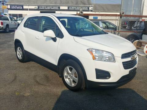 2015 Chevrolet Trax for sale at Viking Auto Group in Bethpage NY